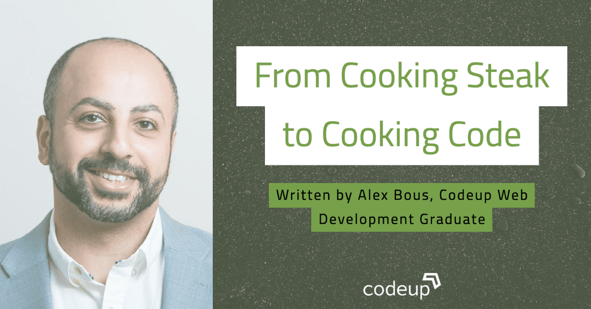 From Cooking Steaks To Cooking Code