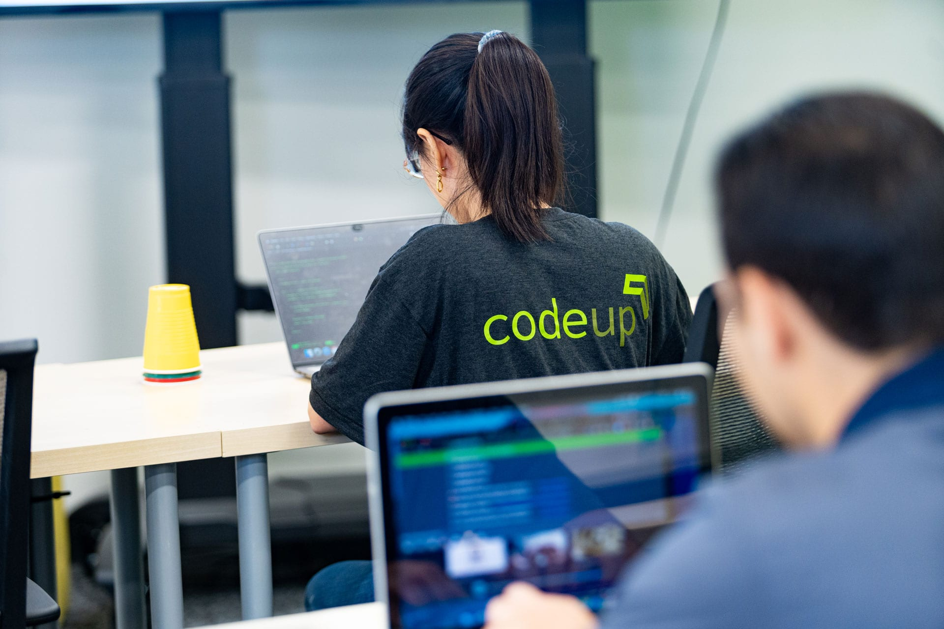 Codeup programming students