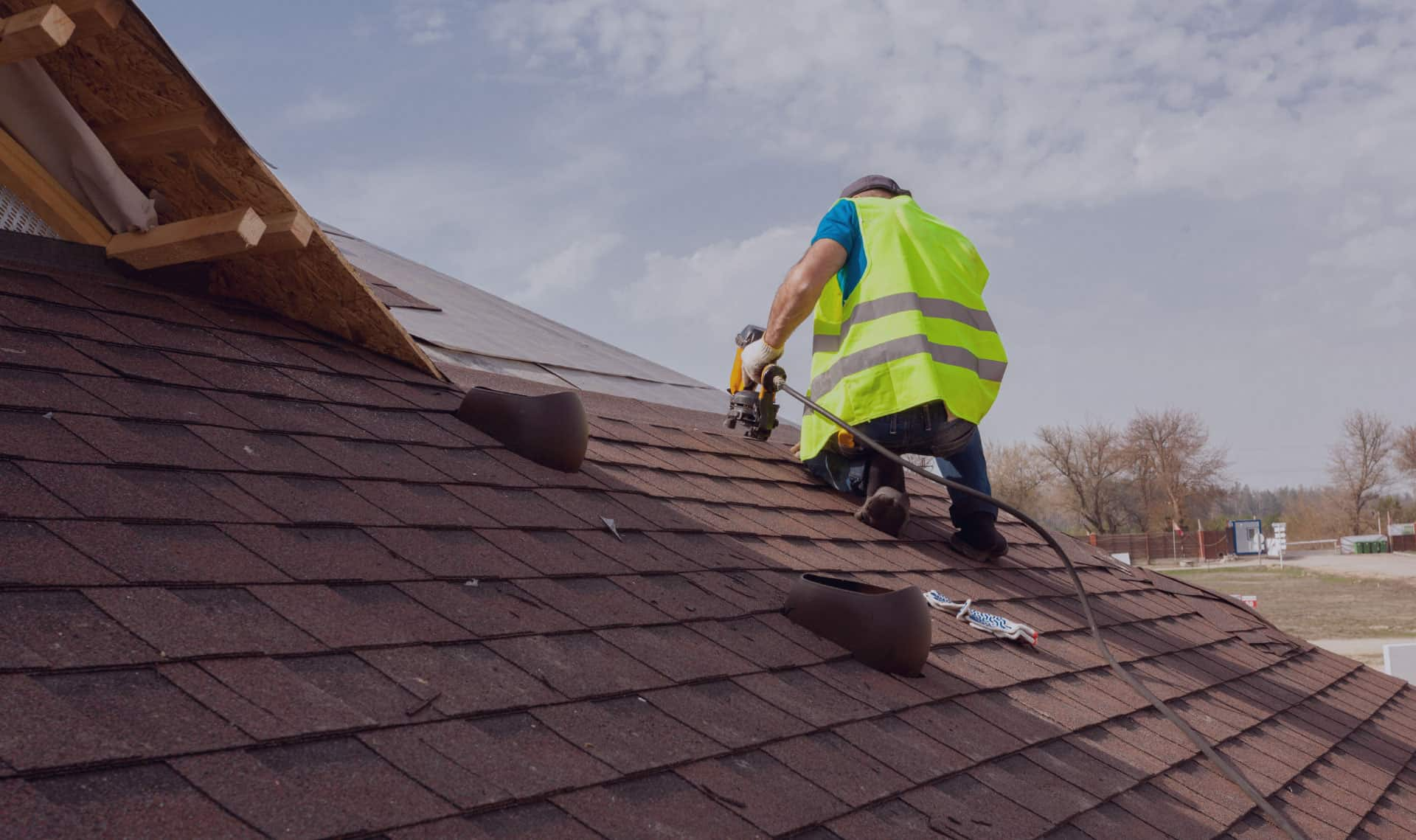 Man on a San Antonio roofinh system performing repair | WeatherTech Roofing San Antonio Roofer Contractor Company Residential and Commercial