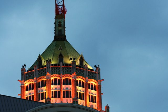 The Tower Life Building's San Antonio Roof