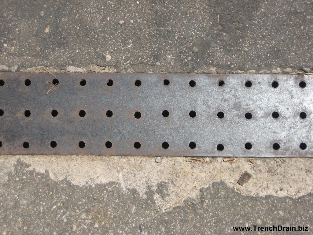 custom steel grates, national parks improvements, perforated grates