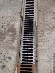 replacement trench grating, broken trench grating, replacing trench drains