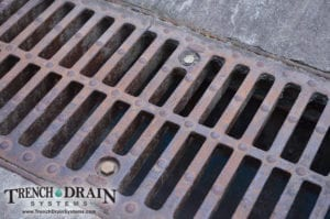 bolted zurn drain, zurn trench drain, drains for loading docks,