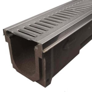 POLYCAST with Stainless Steel Grate