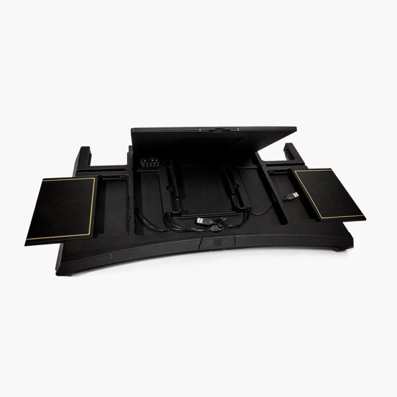 Lagio luxury lapdesk inside cable management
