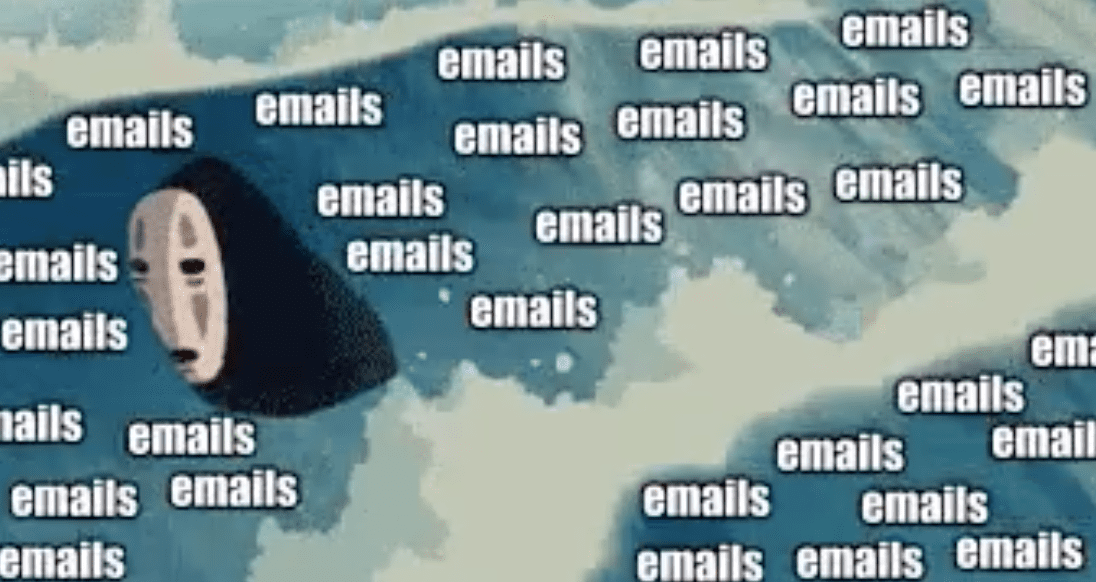 illustration of email