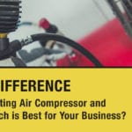 rotary screw vs. reciprocating air compressor