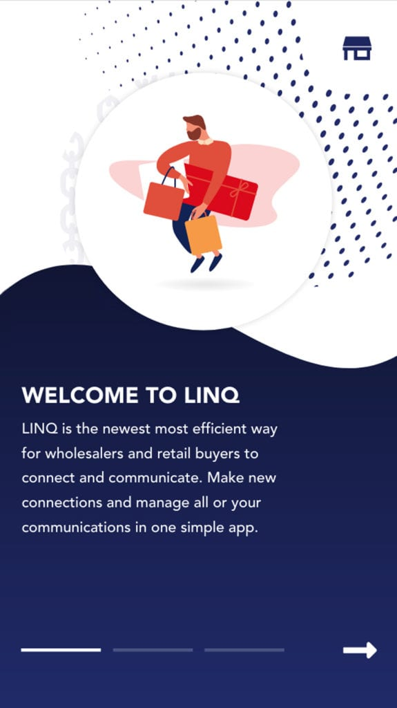 welcome to linq mobile page