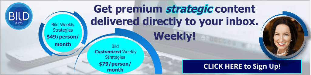 strategic content, bild & co, weekly subscription