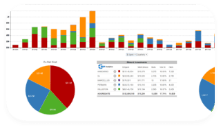 Overview of graph for Saas Software by Mineral Analytics