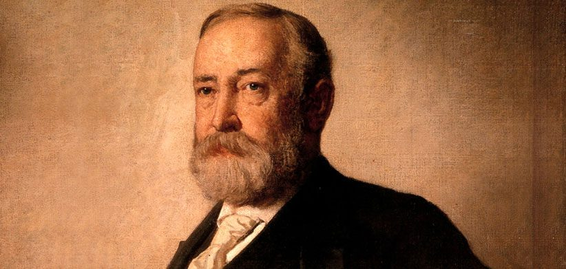 Painting of Benjamin Harrison