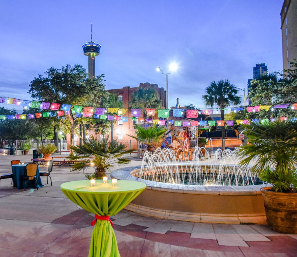 Espee Plaza as a venue for outdoor events