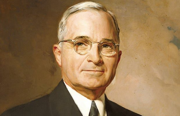 Painting of Harry Truman