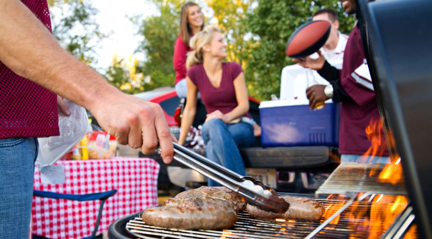 Tailgate UTSA grilling at the Espee