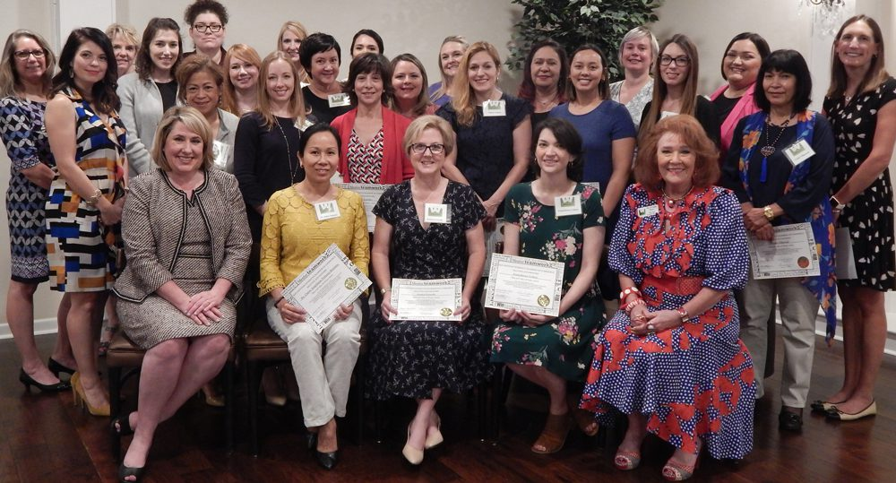 2019 TLD Graduation Group education for business women