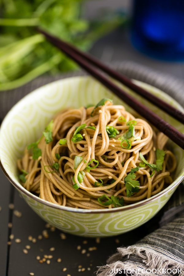 benefits of soba noodles