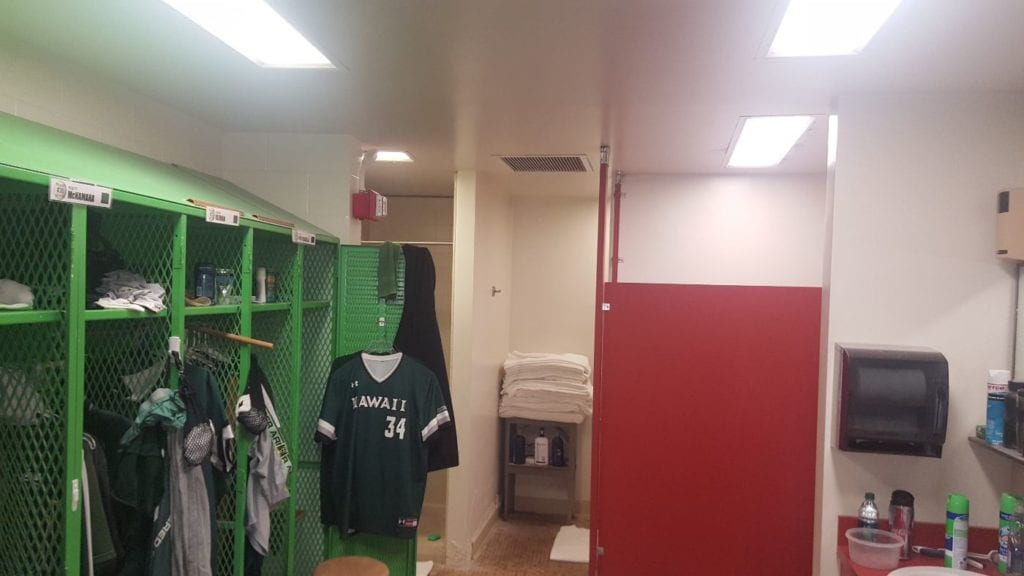 UH Les Murakami Locker Room Statewide General Contractor
