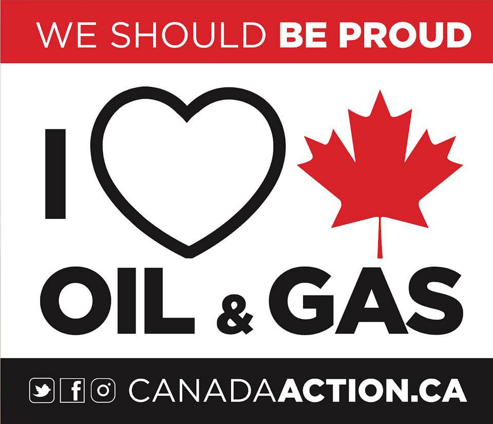 We should be proud I love oil and gas