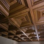cluck Special Project Ceiling with wood patten ceiling