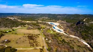 Aerial Photograph of a Texas Ranch