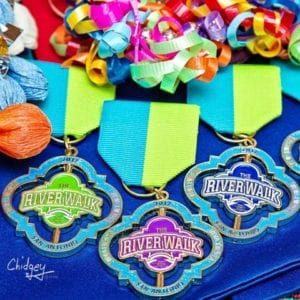 2017 OFFICIAL SAN ANTONIO RIVER WALK FIESTA MEDALS