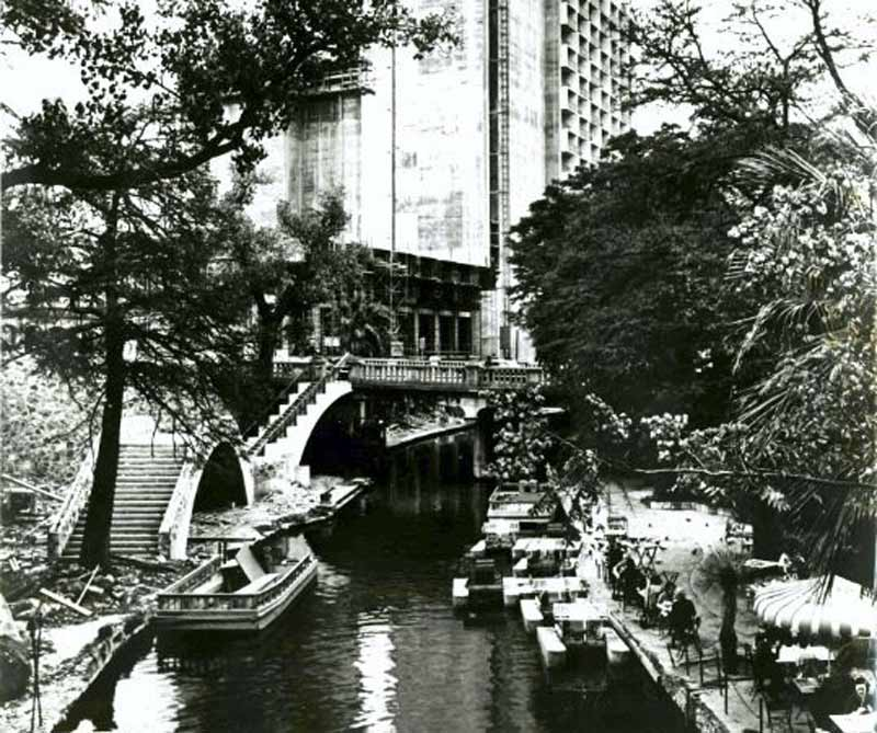 Photo of the River Walk in 1968