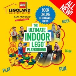 The ultimate indoor LEGO playground. All new! Book online to guarantee entry! Legoland Discovery Center San Antonio