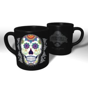 Candy Skull River Walk mugs