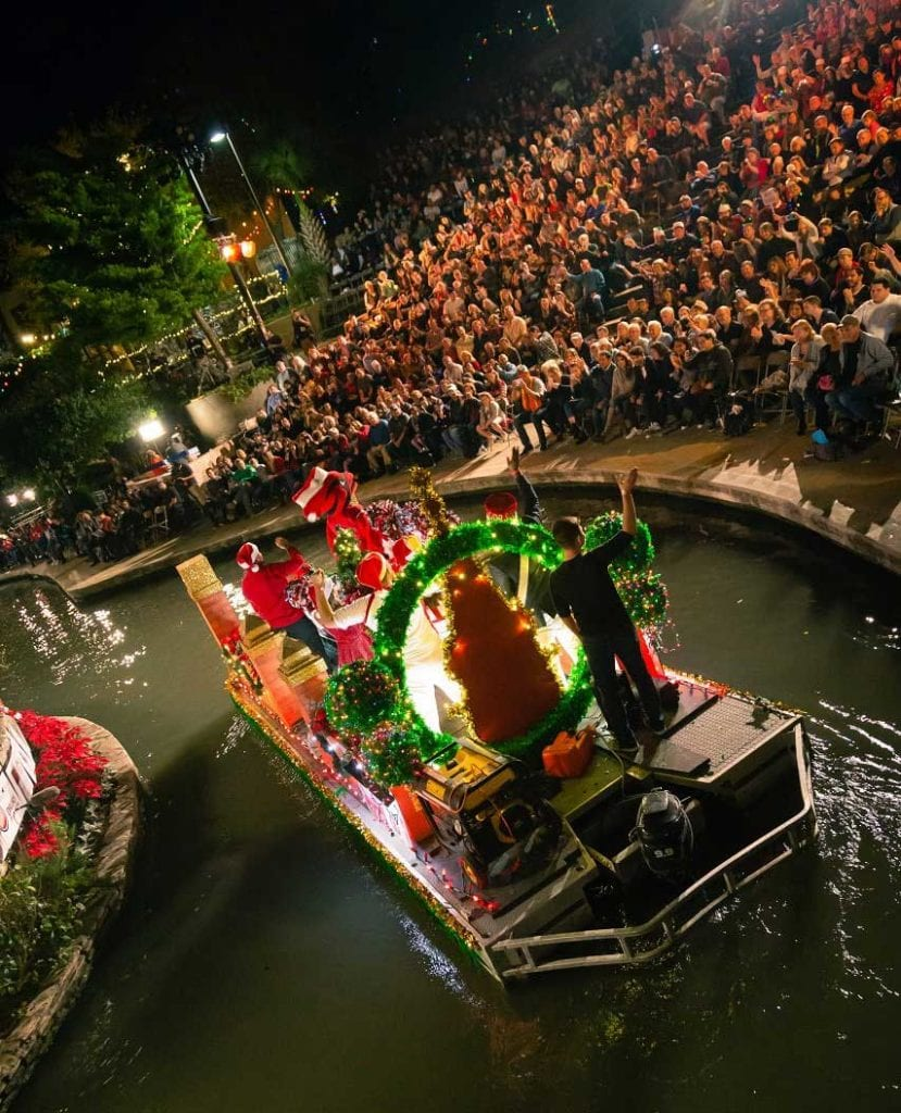 River float at the Arneson River Theatre