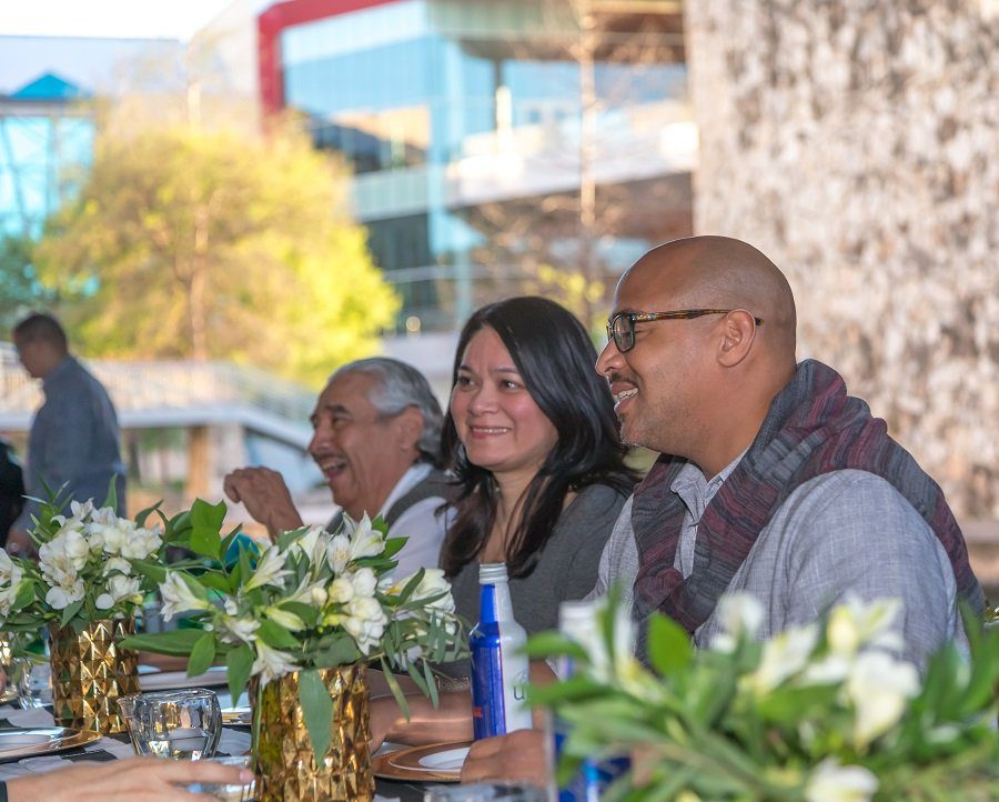 Diners at the Drift & Dine event