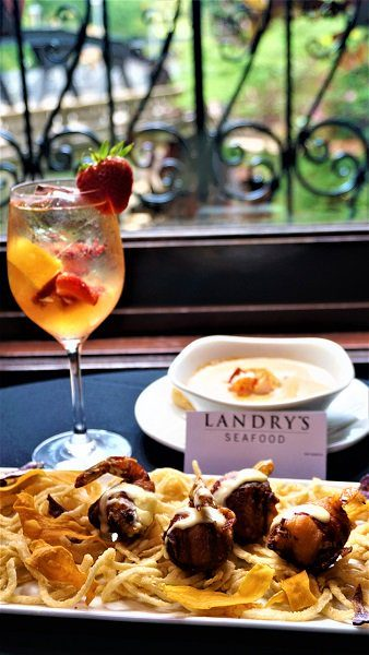 Food presented by Landry's Seafood