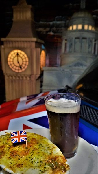 British food and drink prepared for Drift & Dine