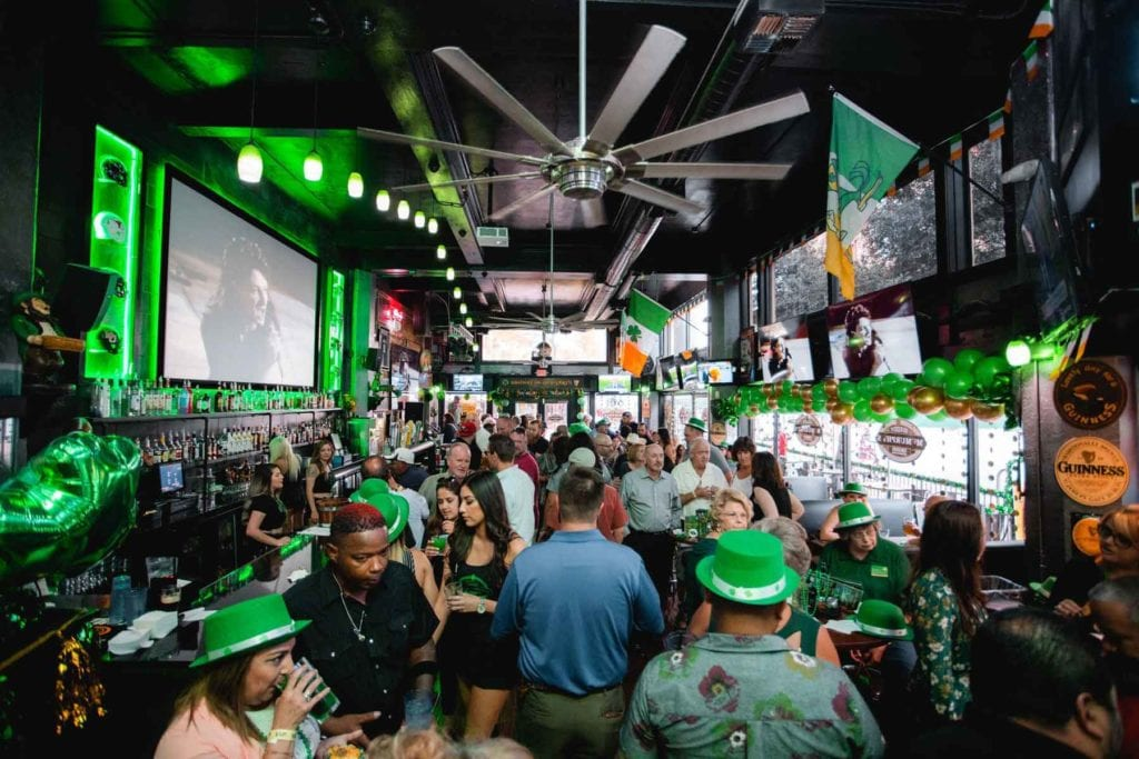 Inside of Maddy McMurphy's Irish Sports Bar