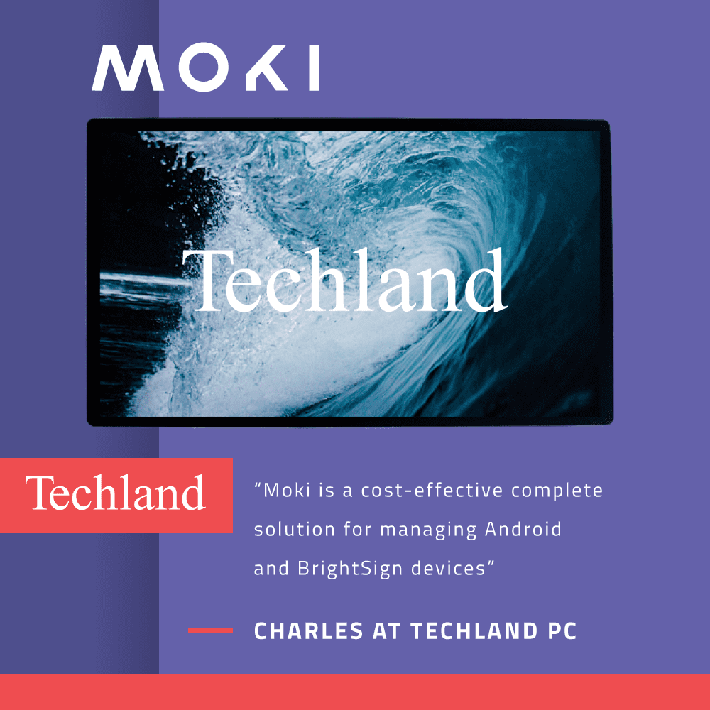 Moki Partners with Techland And Associates