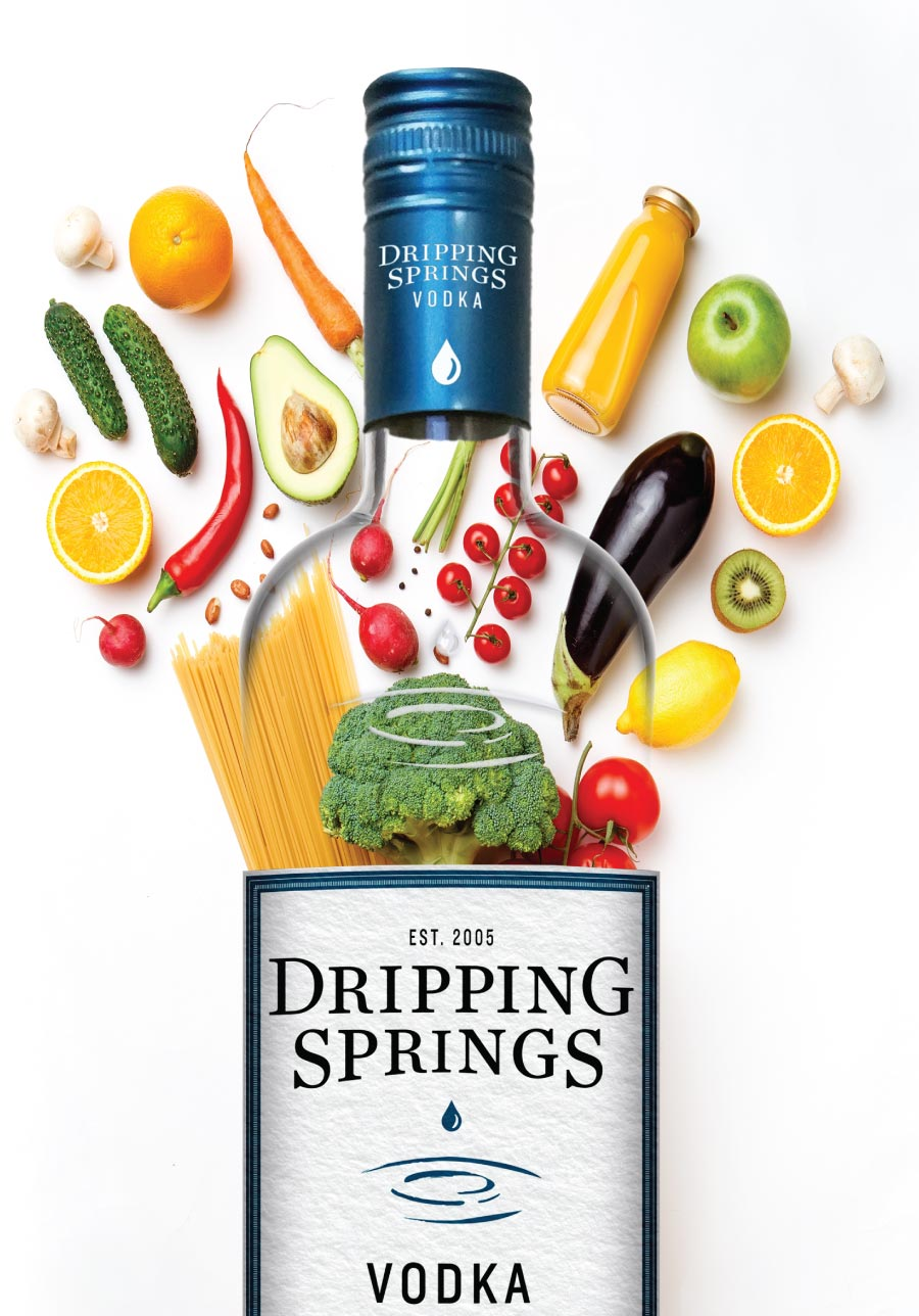 Dripping Springs Vodka Food Bank