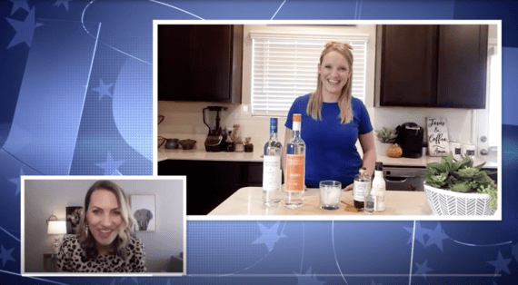 Dripping Springs Vodka Featured On CBS Austin For National Happy Hour Day
