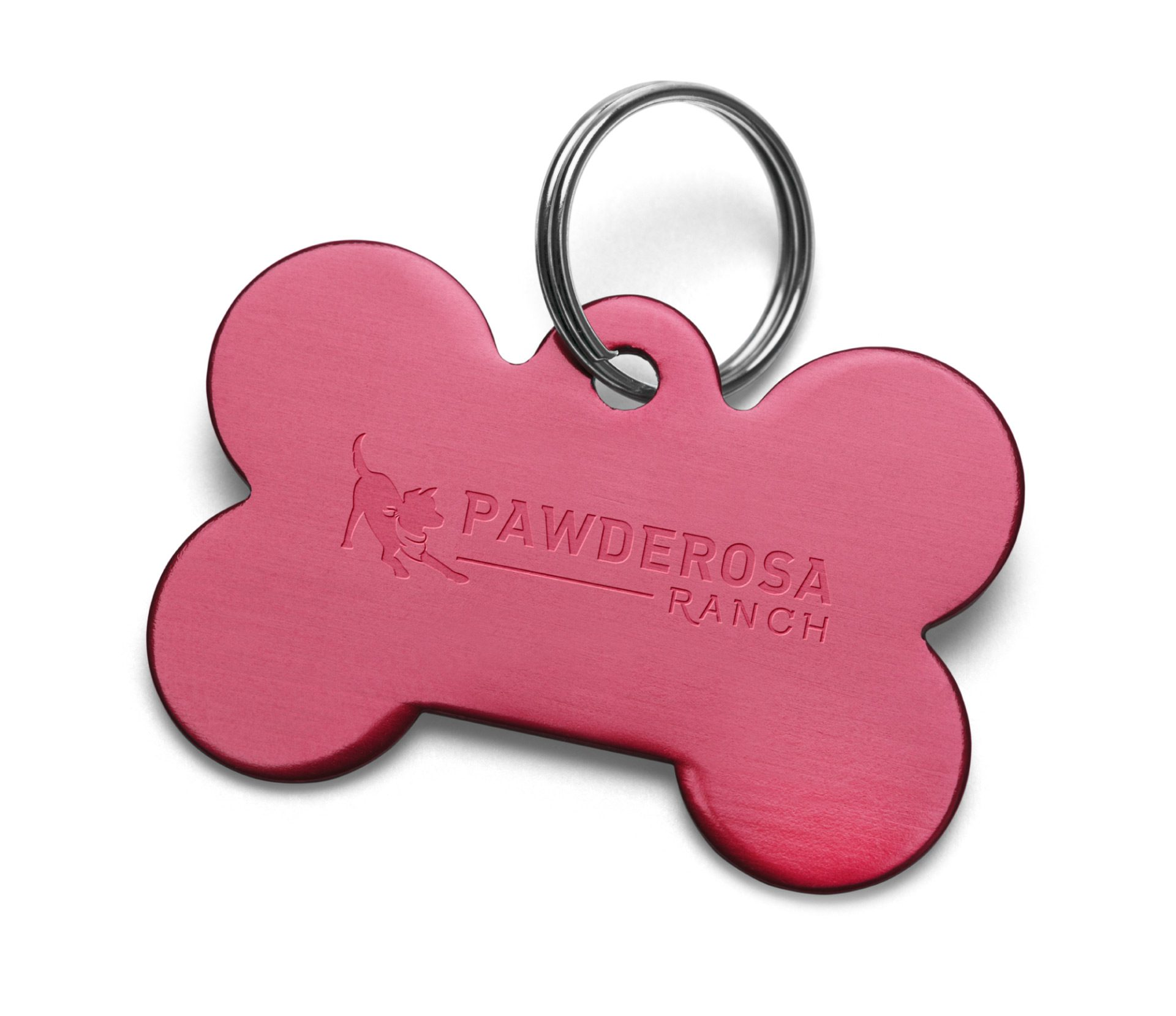 pawderosa photoshopped dog tag