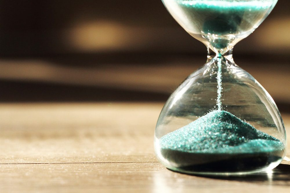 do brands have lifecycles cover photo hourglass with blue sand tribu blog