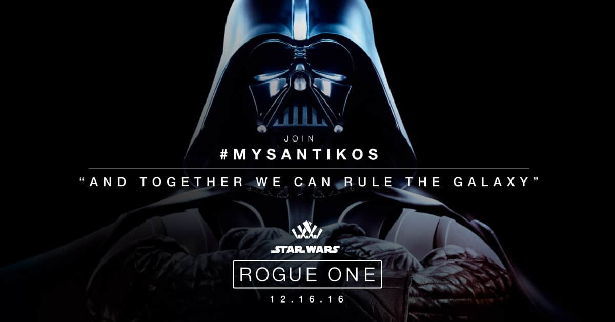 Rogue One Banner for Santikos Movie Theatres