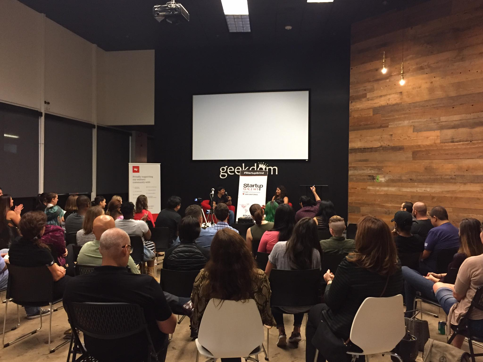 Sara Helmy Speaks at Startup Grind San Antonio