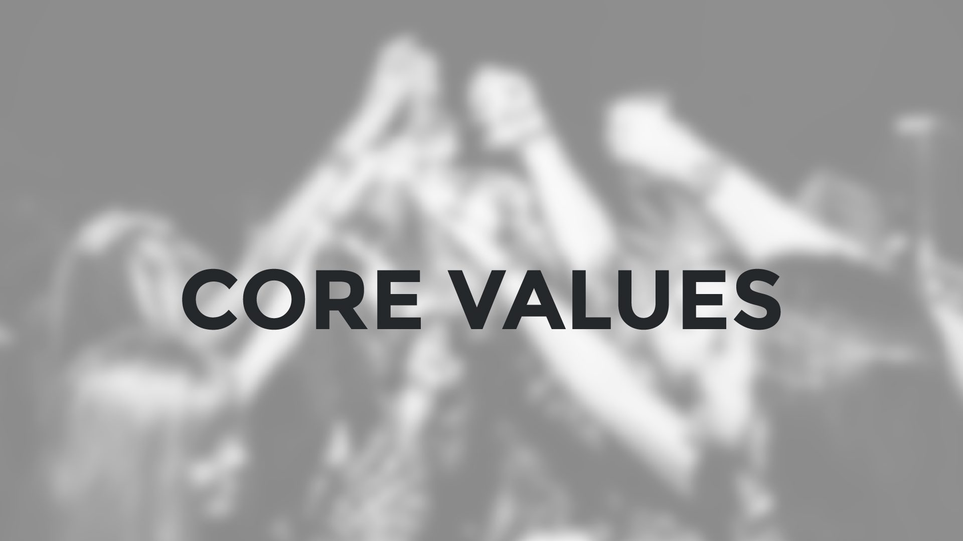 Core Values Closeup | Tribu Digital Marketing