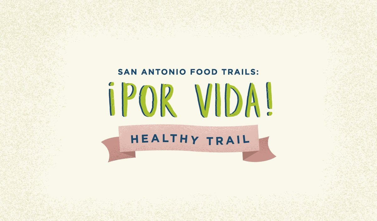 Graphic Design and Illustration For !Por Vida! – Healthy Trail