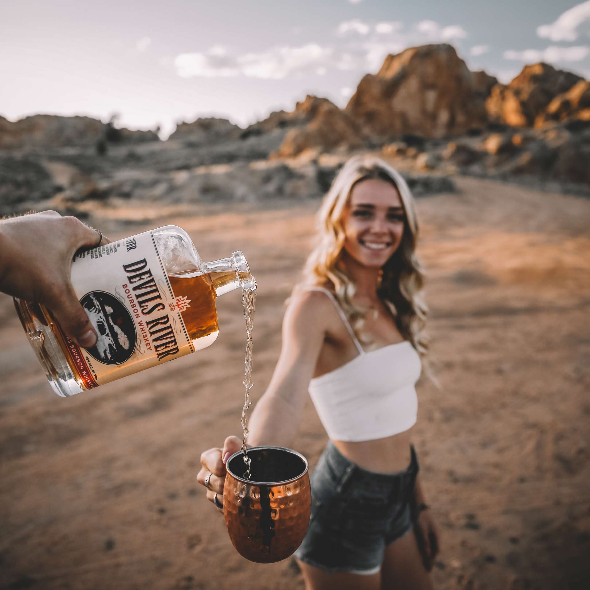 influencer marketing for devils river whiskey