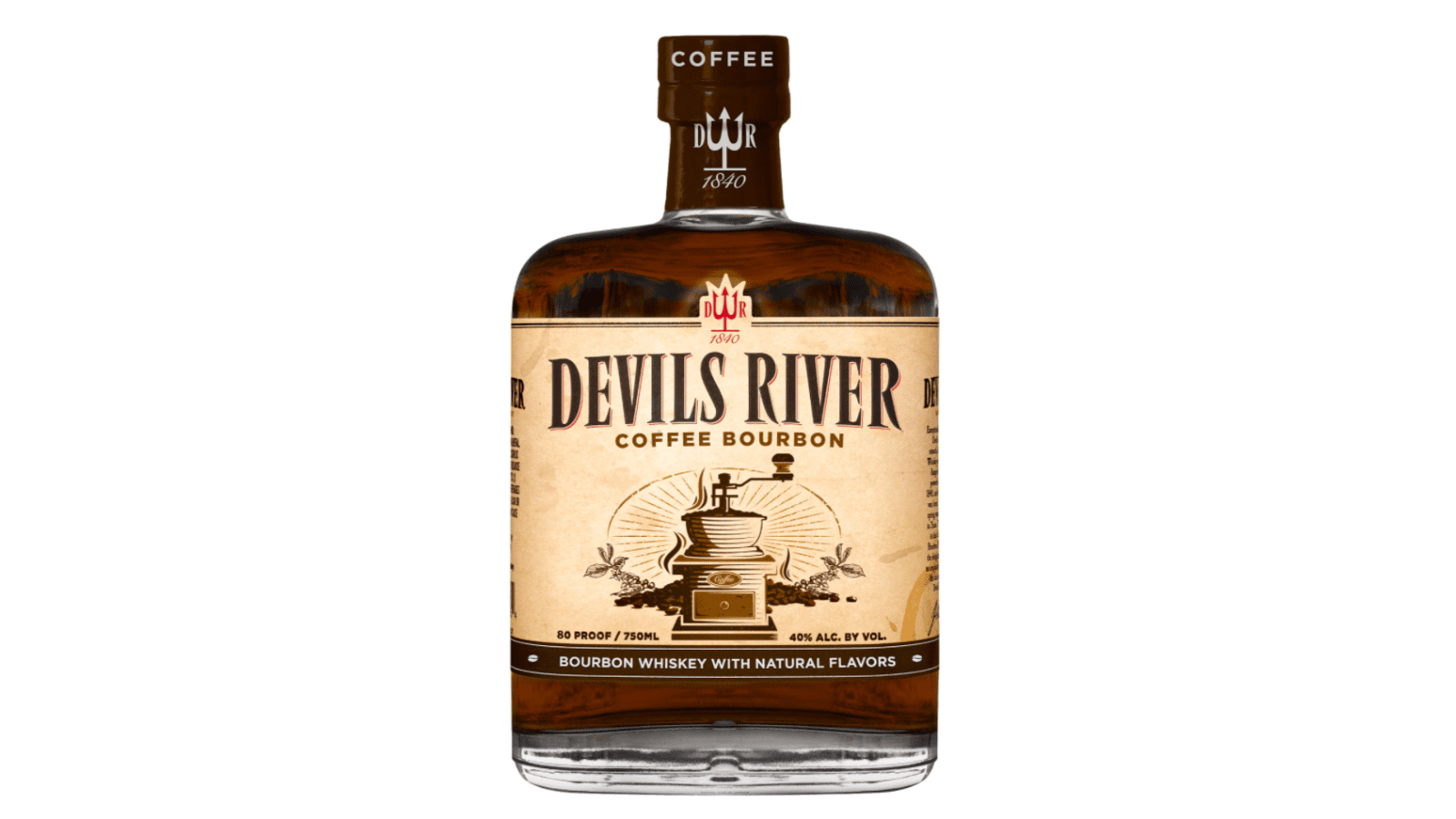 devils river coffee bourbon bottle
